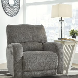 Wittlich - Slate - Swivel Glider Recliner