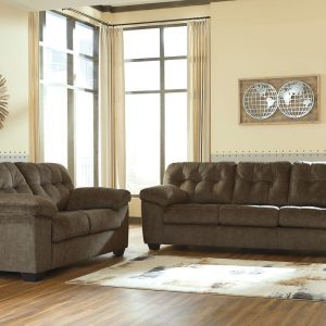 Accrington - Earth - Sofa & Loveseat