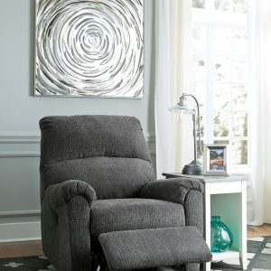 McTeer - Charcoal - Power Recliner