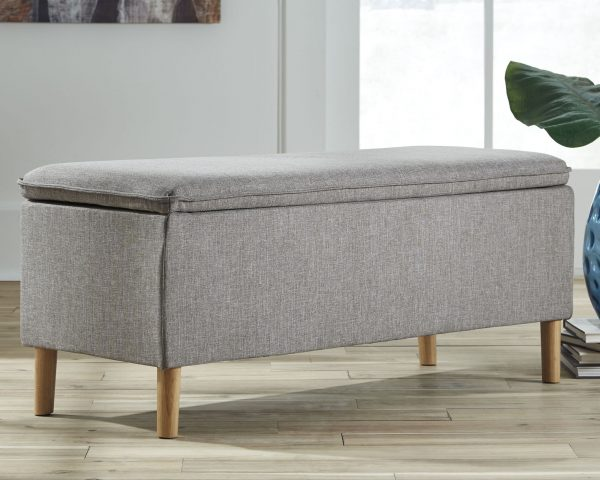 Kaviton - Gray - Accent Bench
