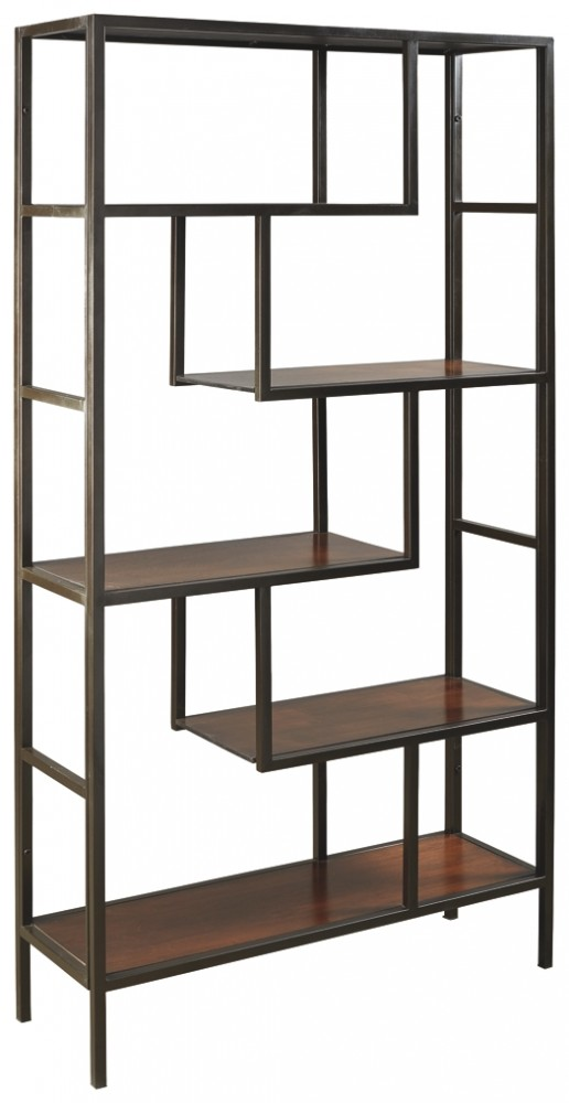 Frankwell – Brown/Black – Bookcase 1