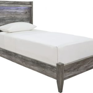 Baystorm - Gray - Twin Panel Bed