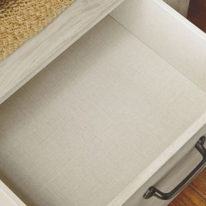 Bellaby - Whitewash - King Panel Storage Bed 1