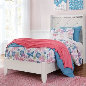 Dreamur - Champagne - Twin Panel Bed