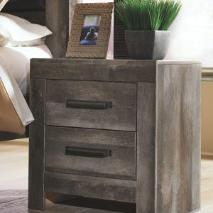 Wynnlow - Gray - Two Drawer Night Stand