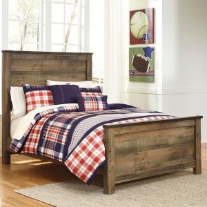 Trinell - Brown - Full Panel Bed