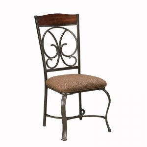 Glambrey - Brown - Dining UPH Side Chair each