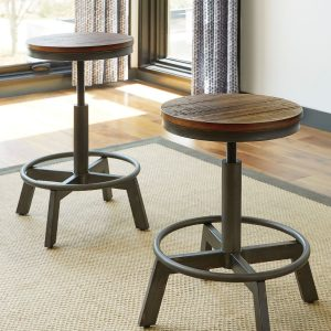 Torjin - Brown/Gray - 3 Pc. - Long Counter Table & 2 Stools 1