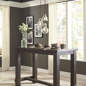 Drewing - Brown - Rectangular Bar Table