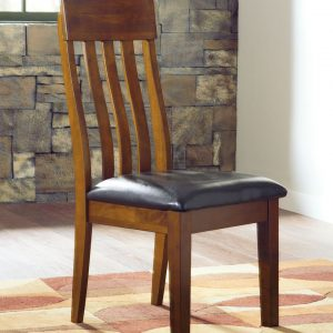 Ralene - Medium Brown - Dining UPH Side Chair each (2/CN)