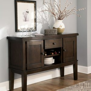 Haddigan - Dark Brown - Dining Room Server