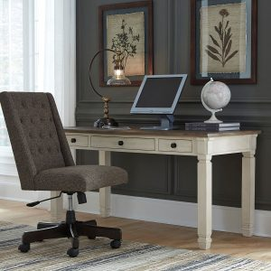 Bolanburg - Two-tone - Home Office Desk & Swivel Chair
