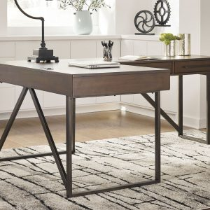 Starmore - Brown - Home Office L Shaped Desk 1