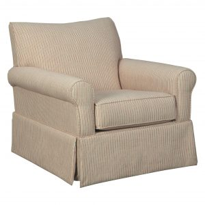 Almanza - Cinnamon - Swivel Glider Accent Chair
