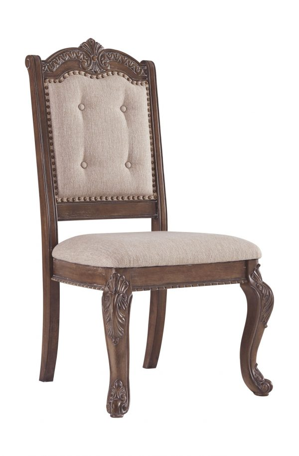 Charmond - Brown - Dining UPH Arm Chair each (2/CN) 3