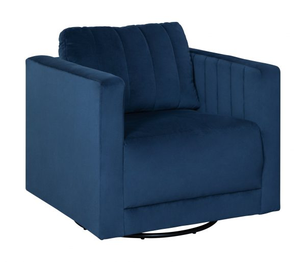Enderlin - Ink - Swivel Accent Chair