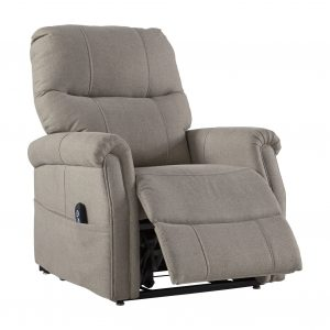 Markridge - Gray - Power Lift Recliner