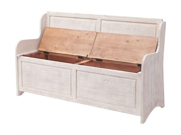 Dannerville - Antique White - Storage Bench 3