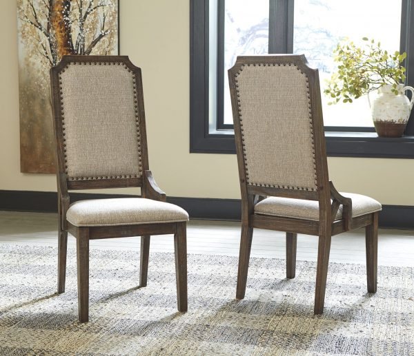 Wyndahl - Rustic Brown - Dining UPH Side Chair each (2/CN)