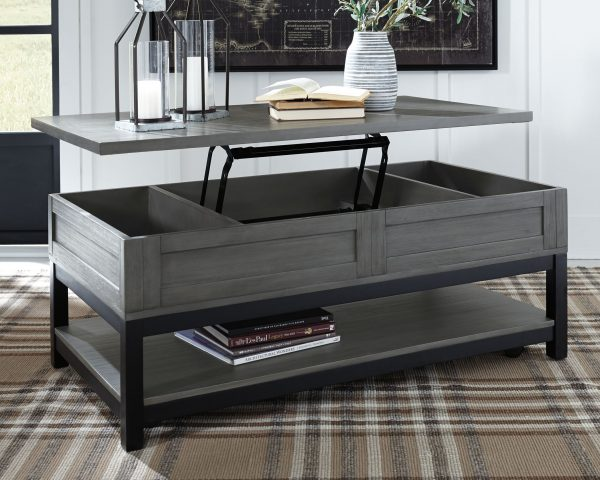 aitbrook - Gray/Black - Rect Lift Top Cocktail Table 3