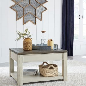 Bolanburg - Brown/White - Rect Lift Top Cocktail Table