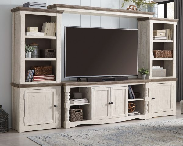 Havalance - Two-tone - Extra Large TV Stand 1