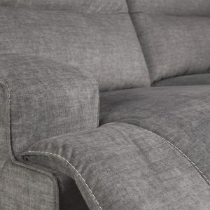 Coombs - Charcoal - 2 Seat Reclining Power Sofa 1