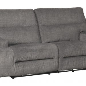 Coombs - Charcoal - 2 Seat Reclining Power Sofa