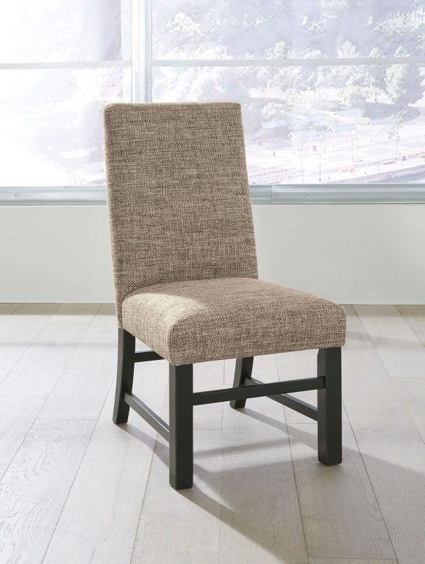Sommerford - Brown - 7 Pc. - RECT DRM Table & 6 UPH Side Chairs 1
