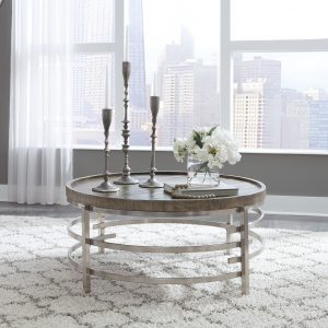 Zinelli - Gray - Round Cocktail Table