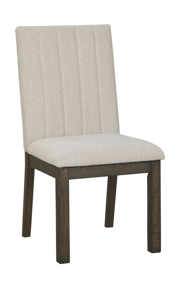 Dellbeck - Beige - Dining UPH Side Chair (2/CN)