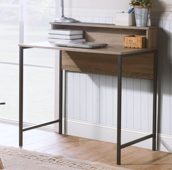 Titania - Grayish Brown - Home Office Small Desk