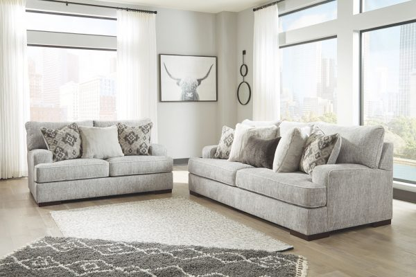 Mercado - Pewter - Loveseat 2
