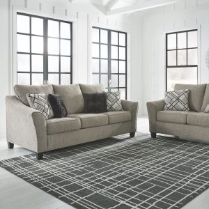 Barnesley - Platinum - Sofa & Loveseat