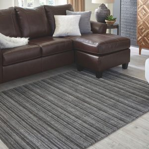 Kellsey - Black/Charcoal - Medium Rug 1