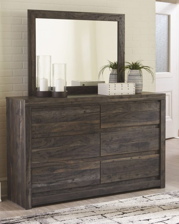 Vay Bay - Charcoal - Bedroom Mirror 1