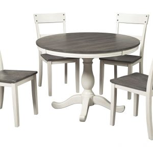 Nelling - Two-tone - Dining Room Table-1