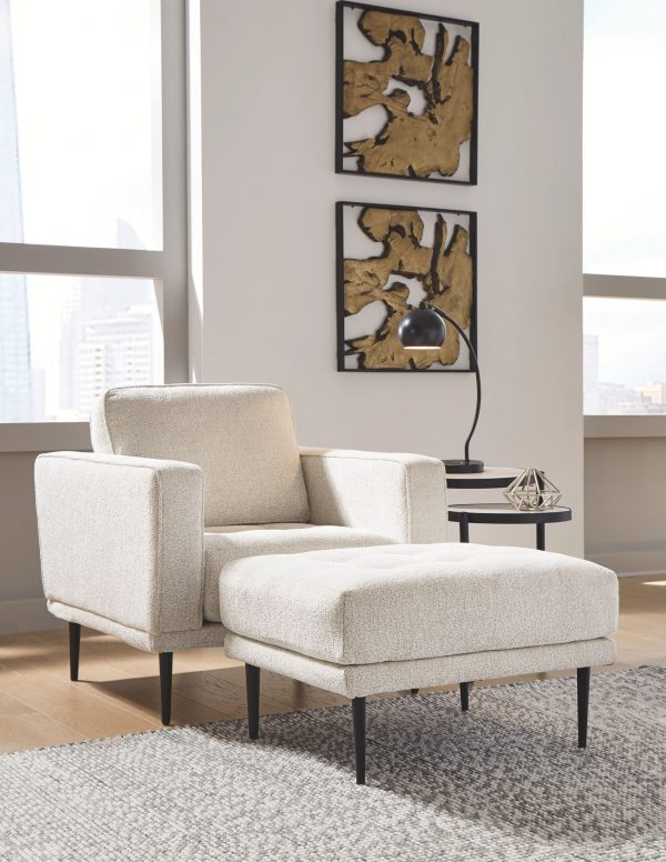 Caladeron - Sandstone - 2 Pc. - Chair with Ottoman