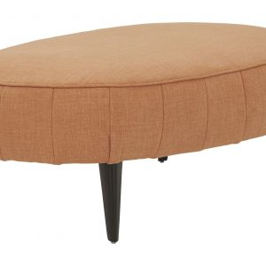Hollyann - Rust - Oversized Accent Ottoman