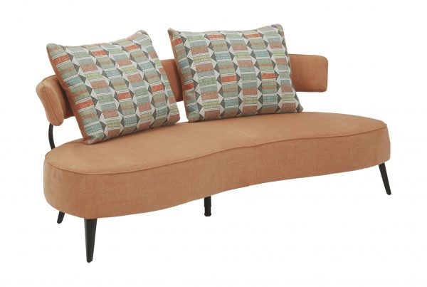Hollyann - Rust - RTA Sofa