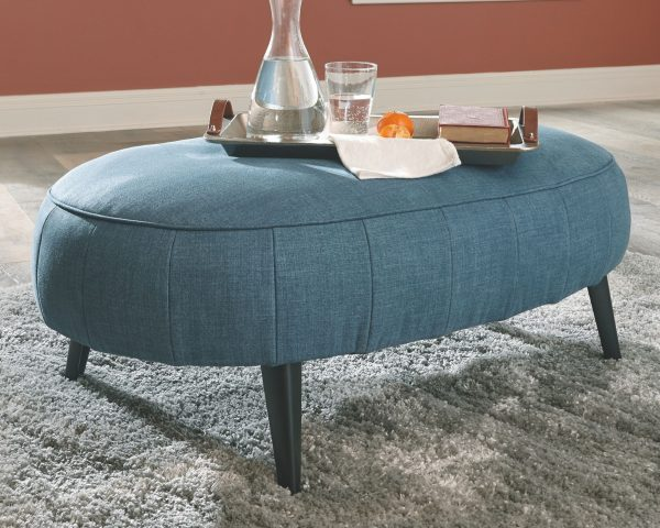 Hollyann - Blue - Oversized Accent Ottoman 4