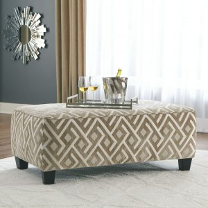 Dovemont - Putty - Oversized Accent Ottoman