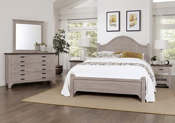 Bungalow - Dover Grey/Folkstone - Double Dresser-6 drawers 2