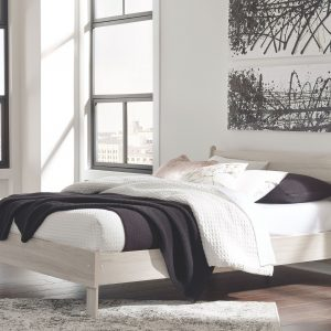 Socalle - Natural - Queen Platform Bed -1