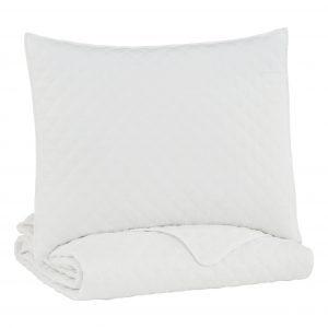 Ryter - White - Twin Coverlet Set
