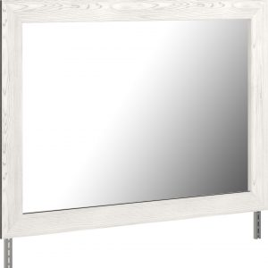 Gerridan - White/Gray - Bedroom Mirror