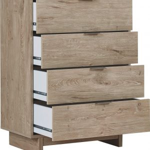 Oliah - Natural - Four Drawer Chest 1