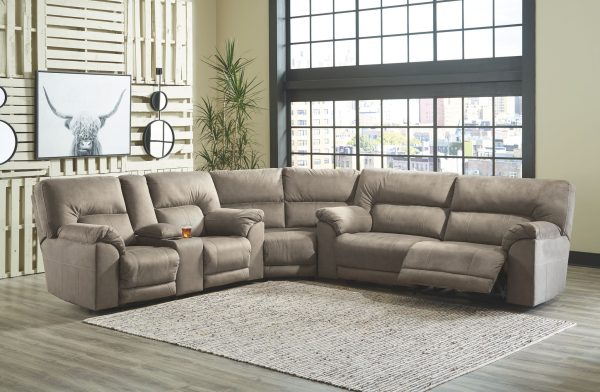 Cavalcade - Slate - Reclining Sectional