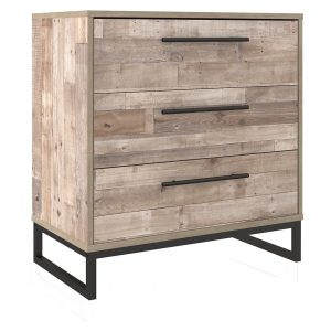 Neilsville - Whitewash - Three Drawer Chest-1