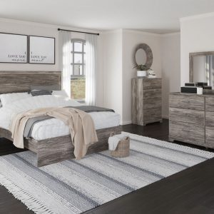 Ralinksi - Gray - Queen Panel Bed 1